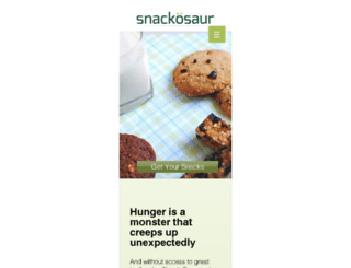 snackosaur.com screenshot
