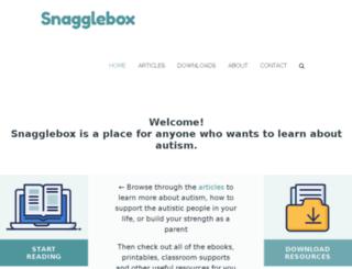 snagglebox.com screenshot
