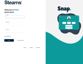 snap.stearns.com screenshot