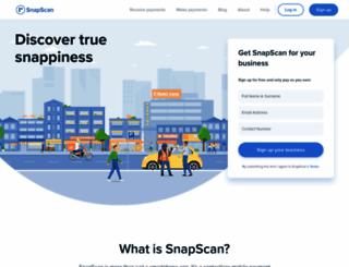 snapscan.co.za screenshot