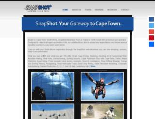 snapshot-tours.co.za screenshot