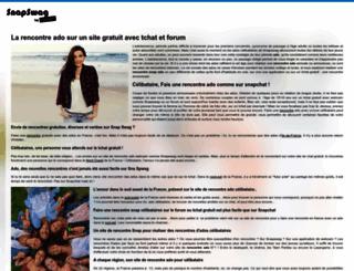 snapswag.fr screenshot