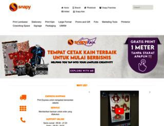 snapy.co.id screenshot