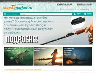 snastimarket.ru screenshot
