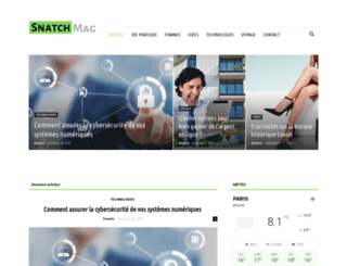 snatch-mag.com screenshot