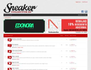 sneakercollector.es screenshot