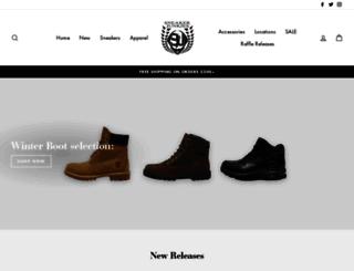 sneakerjunkiesusa.com screenshot