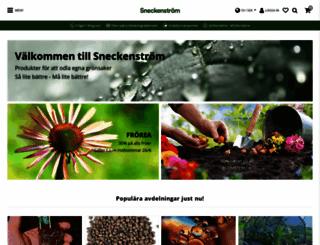 sneckenstrom.se screenshot