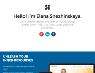 snezhinskaya.ru screenshot