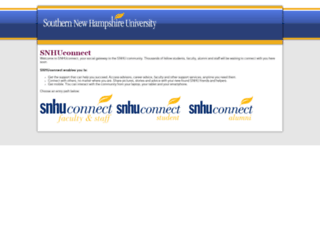 snhuconnect.com screenshot