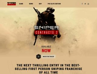 sniperghostwarrior2.com screenshot