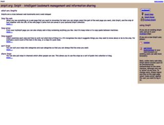 snipit.org screenshot