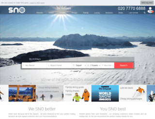 sno.co.uk screenshot