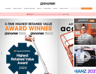 snorkelusa.com screenshot