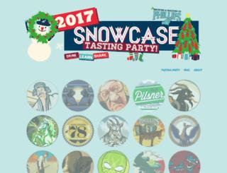 snowcasecalendar.com screenshot