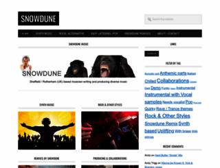 snowdune.co.uk screenshot
