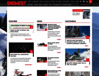 snowest.com screenshot