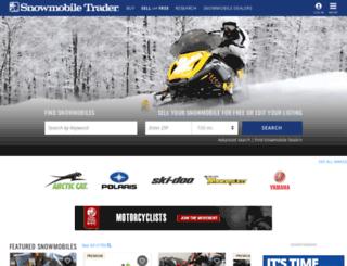 snowmobiletraderonline.com screenshot