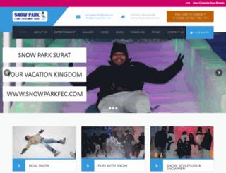 snowparkfec.com screenshot