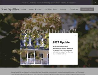 snowsquallinn.com screenshot