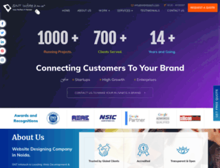 sntinfotech.com screenshot