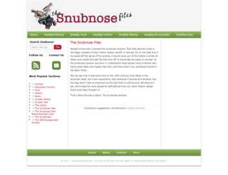 snubnose.info screenshot