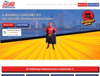 snyderac.com screenshot