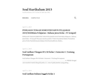 soalkurikulum2013.com screenshot