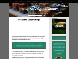 soap-making-essentials.com screenshot
