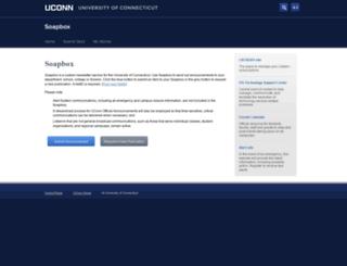 soapbox.uconn.edu screenshot