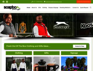 soapboxpromo.co.za screenshot
