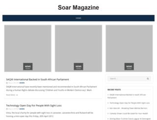 soarmagazine.co.uk screenshot