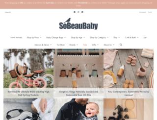 sobeaubaby.com screenshot