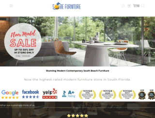 sobefurniture.com screenshot
