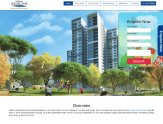 sobha-siliconoasis.call-now.co.in screenshot