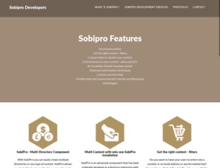 sobiprodevelopers.com screenshot