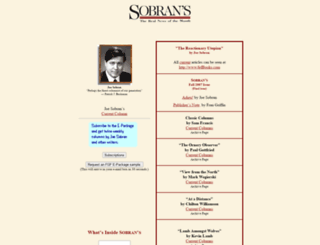 sobran.com screenshot