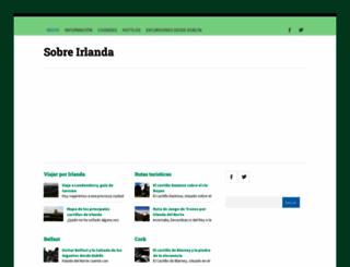 sobreirlanda.com screenshot