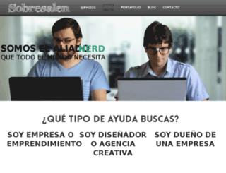 sobresalen.com screenshot