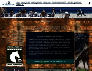socalequine.com screenshot