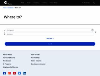 socaltransport.org screenshot