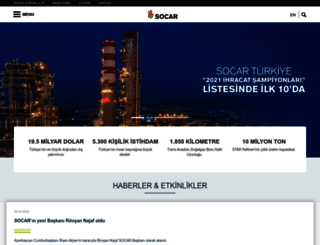 socar.com.tr screenshot
