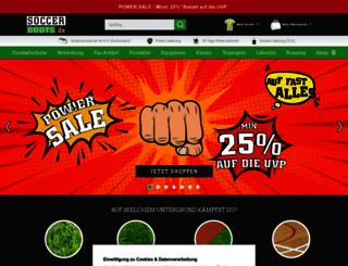 soccerboots.de screenshot