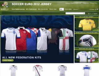 soccereuro2012jersey.com screenshot
