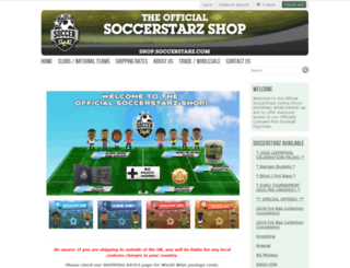 soccerstarz.com screenshot