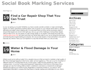 social-bookmarking-services.com screenshot