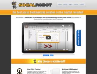 social-robot.net screenshot