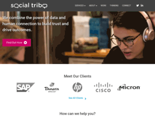 social-tribe.com screenshot