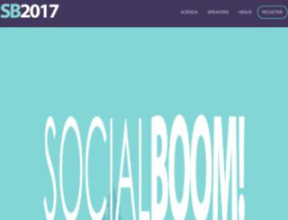 socialboomevent.com screenshot
