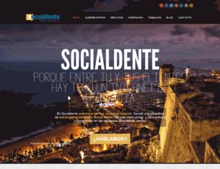 socialdente.com screenshot